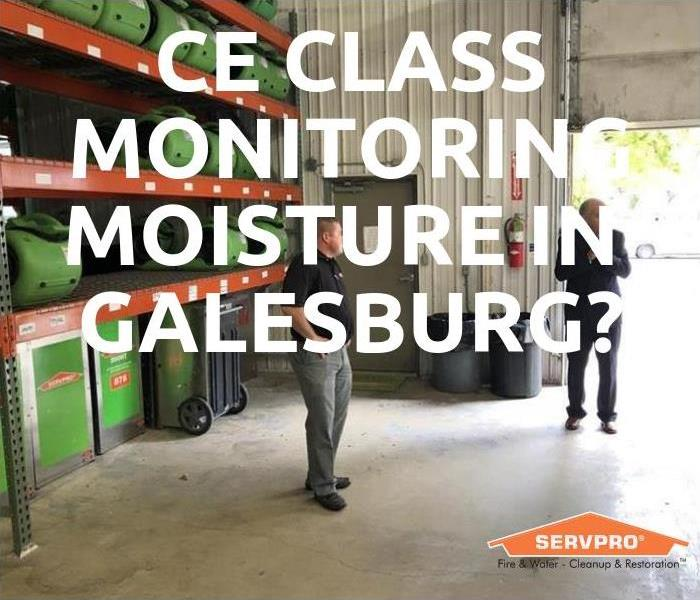 Community CE Class Monitoring Moisture In Galesburg